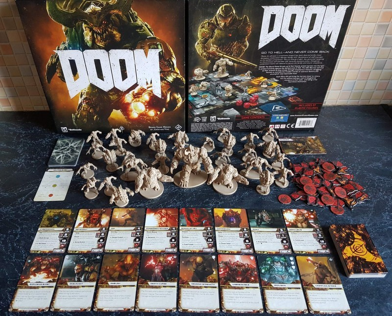 doom the board game társasjáték magyarország társasjáték keresője