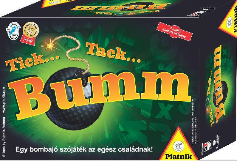 Tick Tack Bumm Spielanleitung