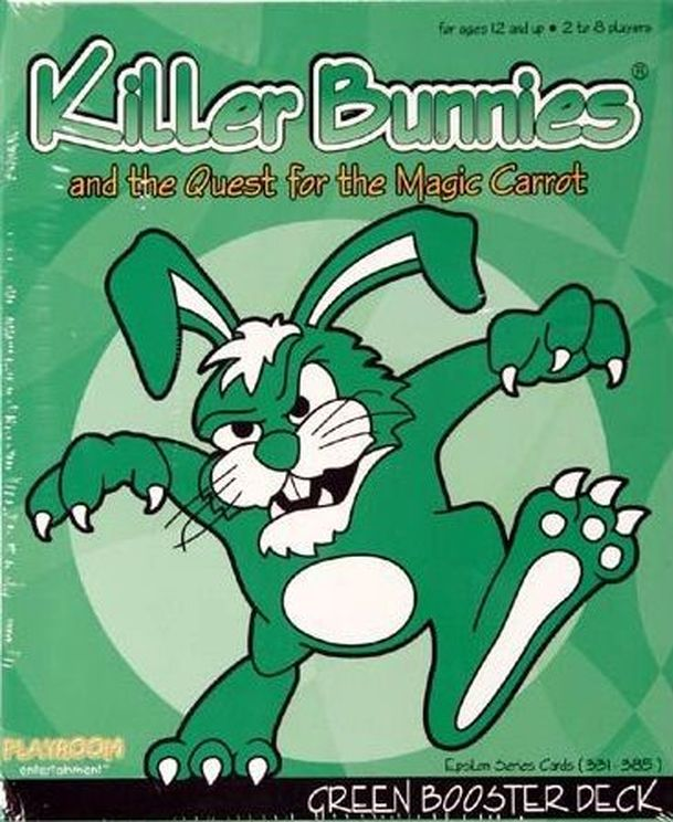 Killer Bunnies and the Quest for the Magic Carrot GREEN Booster