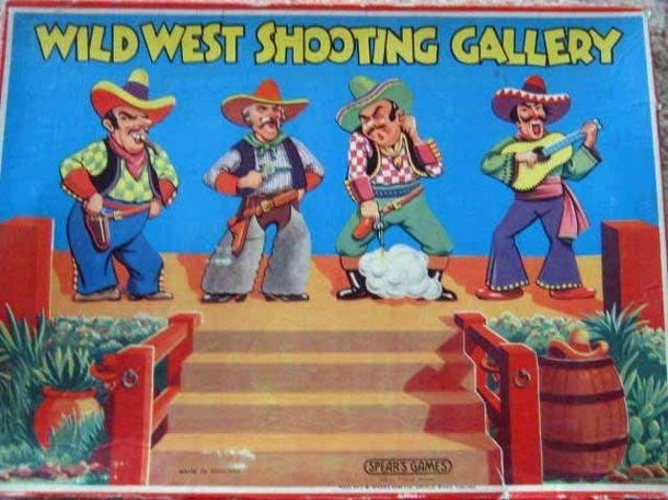 Wild West Shooting Gallery