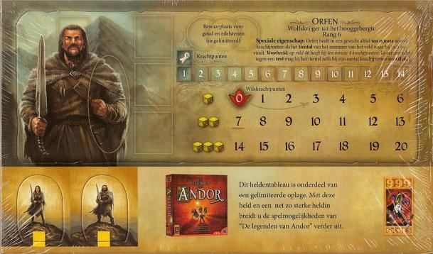 Legends of Andor: Wolf Warrior