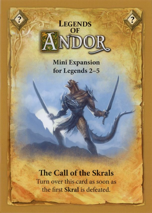Legends of Andor: Call of the Skrals