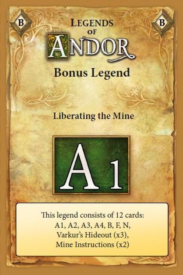Legends of Andor: Liberating the Mine