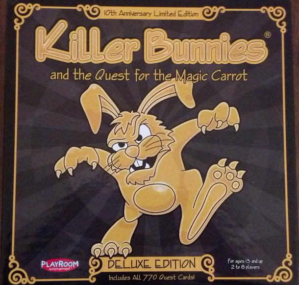 Killer Bunnies and the Quest for the Magic Carrot Deluxe Limited Edition