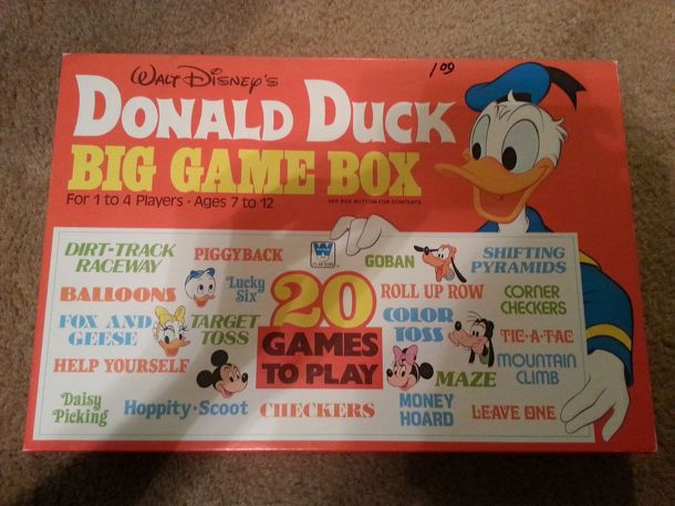 Donald Duck Big Game Box