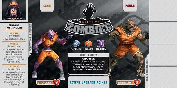 Kaosball: Team – Malltown Zombies