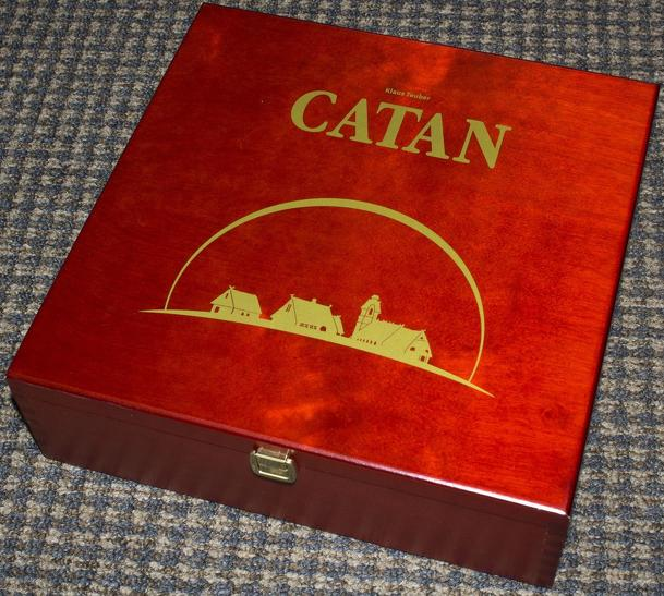 The Settlers of Catan: 15th Anniversary Wood Edition