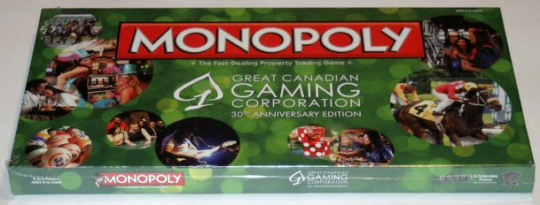 Monopoly: Great Canadian Gaming Cooperation