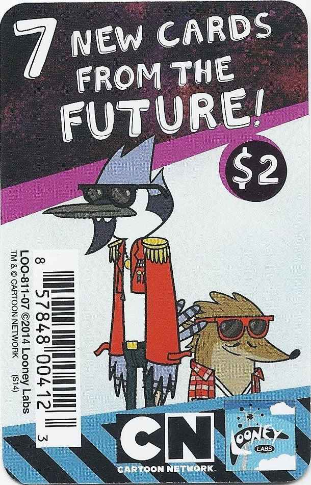 Regular Show Fluxx Future Promo Pack