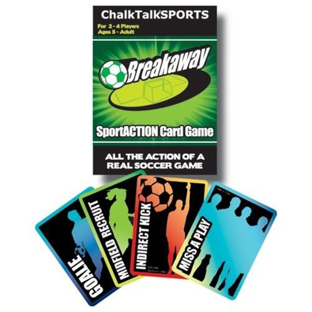 Breakaway SportACTION Soccer Card Game