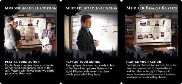 Castle: The Detective Card Game – Murder Board Promo