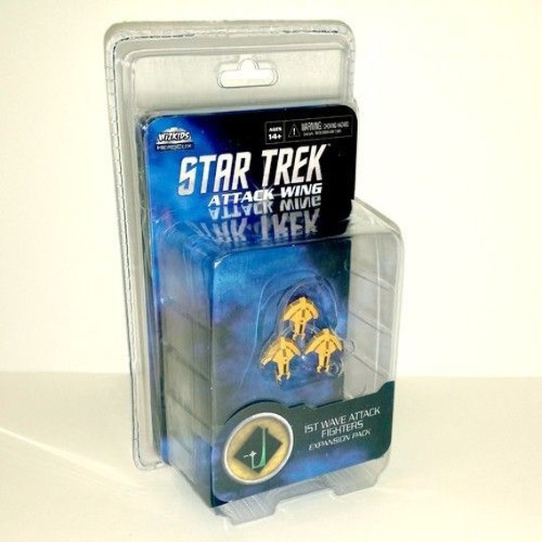 Star Trek: Attack Wing – 1st Wave Attack Fighters Expansion Pack