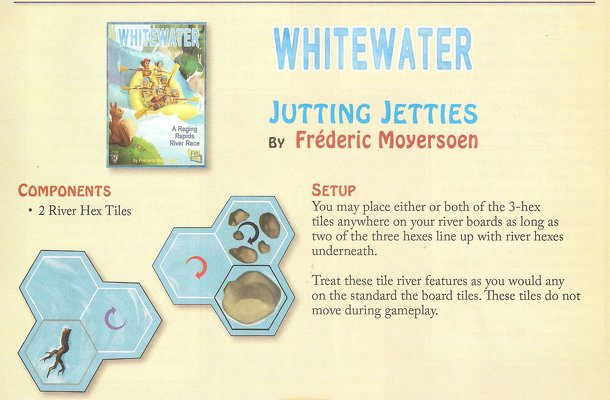 Whitewater: Jutting Jetties
