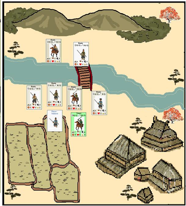 Blades of Honor: An Epic Game of Samurai Adventure in Medieval Japan.