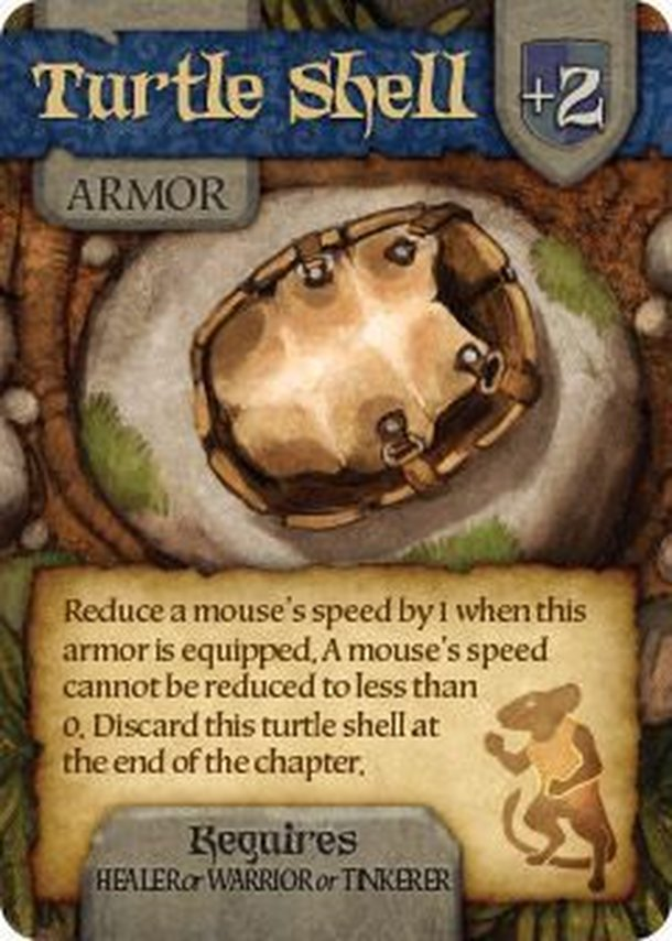 Mice and Mystics: Turtle Shell