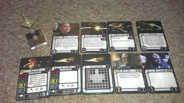 Star Trek: Attack Wing – Prakesh Mirror Universe Expansion Pack