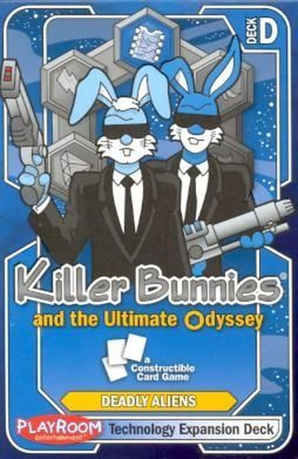 Killer Bunnies and the Ultimate Odyssey: Technology Expansion Deck D