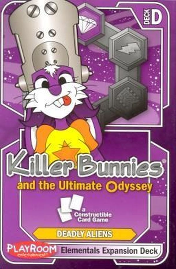 Killer Bunnies and the Ultimate Odyssey: Elementals Expansion Deck D