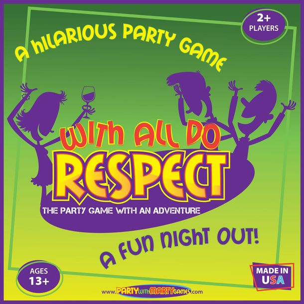 With All Do Respect: The Party Game With An Adventure