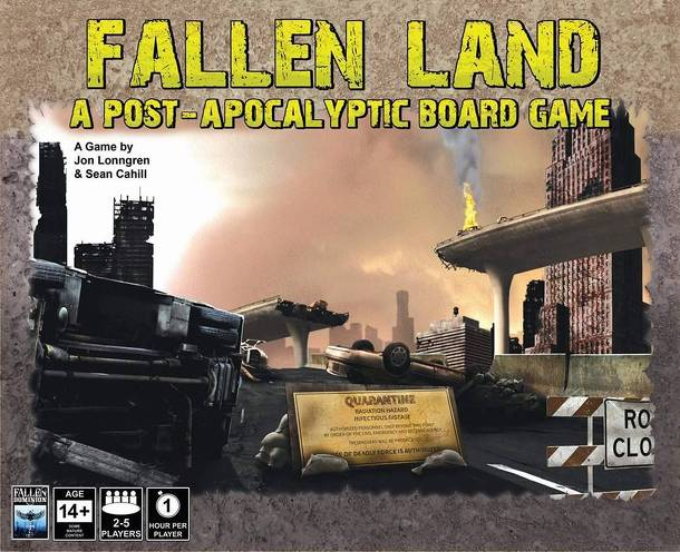 Fallen Land: A Post Apocalyptic Board Game