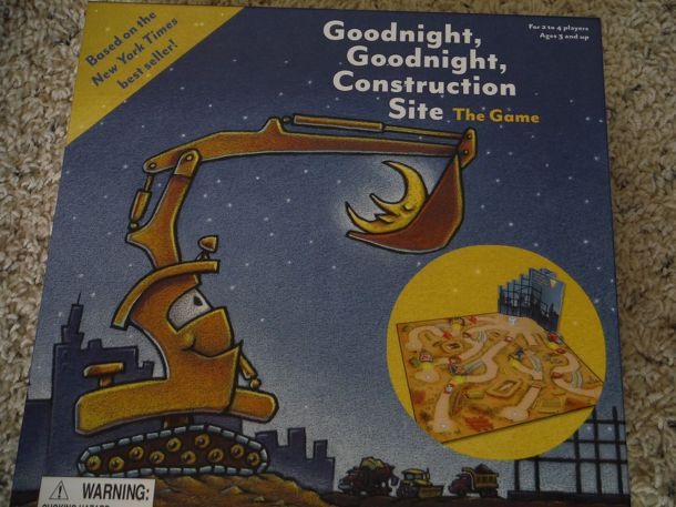 Goodnight Goodnight, Construction Site: The Game