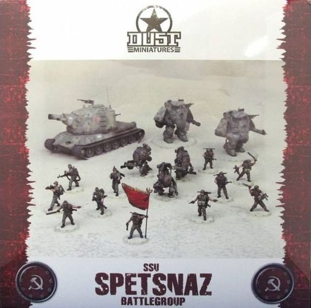 Dust Tactics: SSU Spetsnaz Battlegroup
