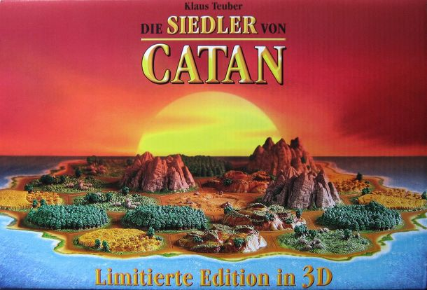 CATAN 3D Collector's Edition