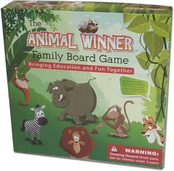 Animal Winner Family Board Game
