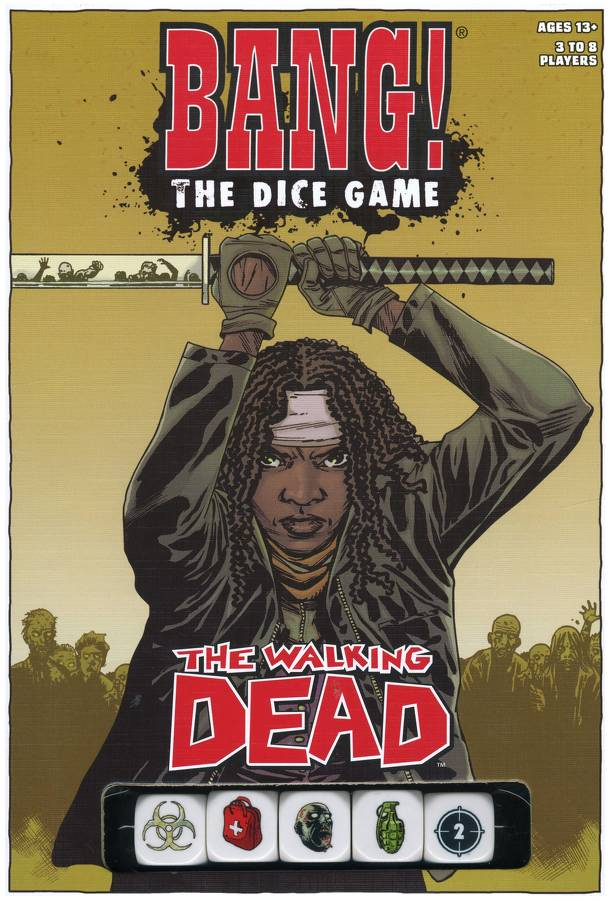 Bang! The Dice Game: The Walking Dead