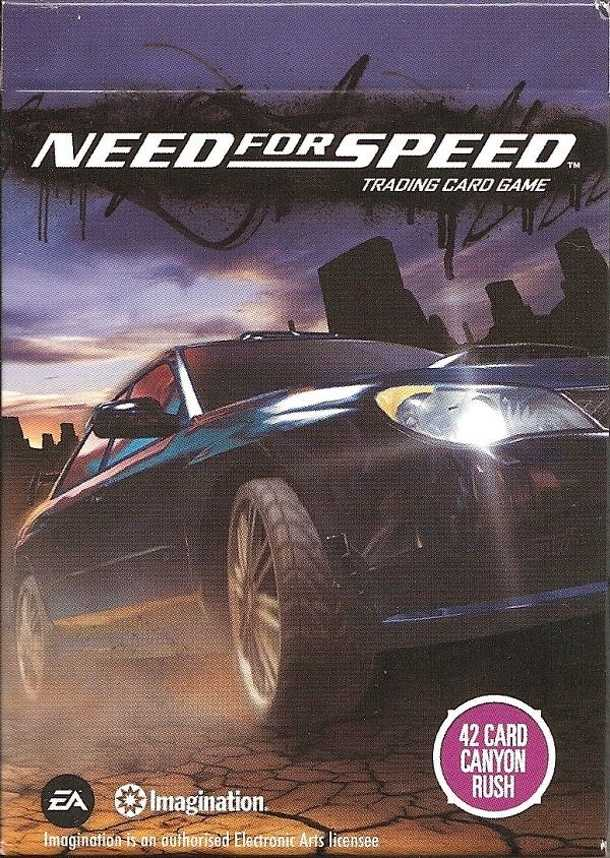 Need for Speed Trading Card Game: Canyon Rush