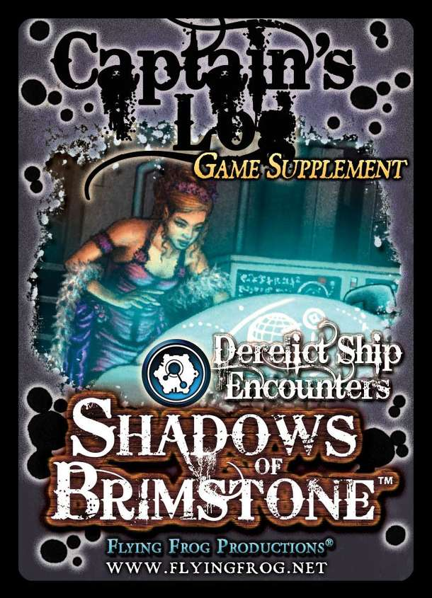 Shadows of Brimstone: Captain's Log Game Supplement