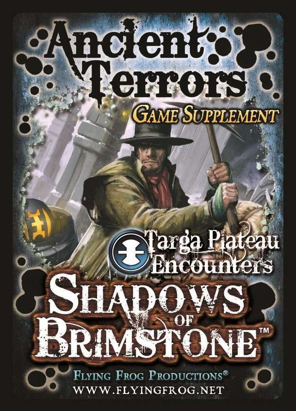 Shadows of Brimstone: Ancient Terrors Game Supplement
