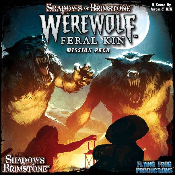 Shadows of Brimstone: Werewolves' Den Mission Pack