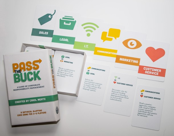 Pass the Buck: A Game of Corporate Responsibility Management