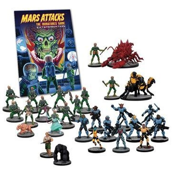 Mars Attacks: The Miniatures Game – Extermination