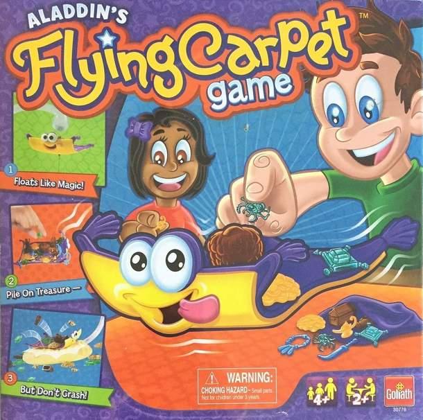 Fliegender Teppich Aladin