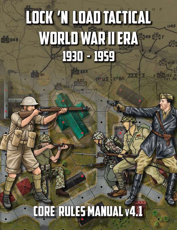 Lock 'n Load Tactical World War II Era Core Rules