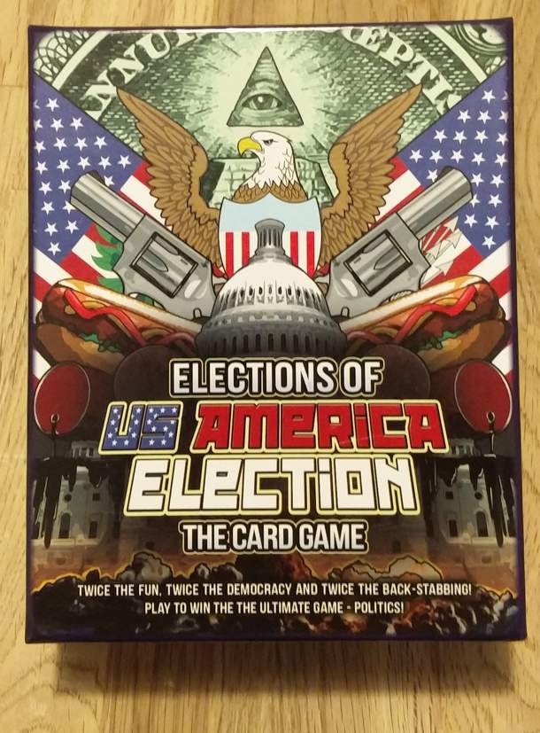 Elections of US America Election: The Card Game