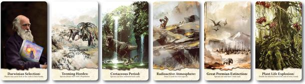 Evolution: Scenario Cards