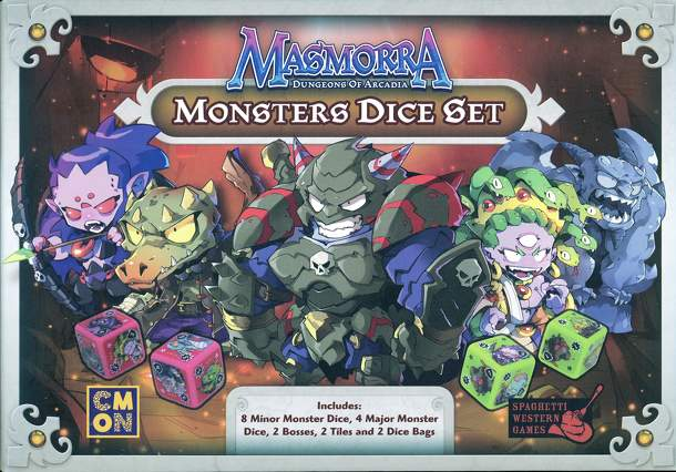 Masmorra: Dungeons of Arcadia – Monsters Dice Set