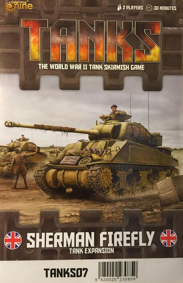 Tanks: British Sherman V and Firefly
