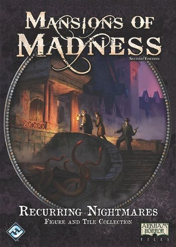 Mansions of Madness: Second Edition – Recurring Nightmares Figure and Tile Collection