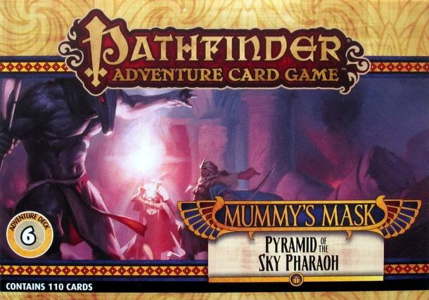Pathfinder Adventure Card Game: Mummy's Mask – Pyramid of the Sky Pharaoh Adventure Deck 6