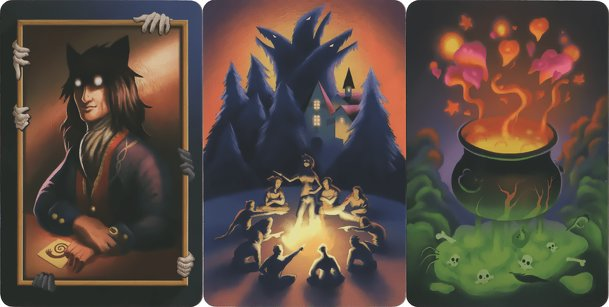 "Dixit: ""The Werewolves of Miller's Hollow: The Pact"" Promo Cards"