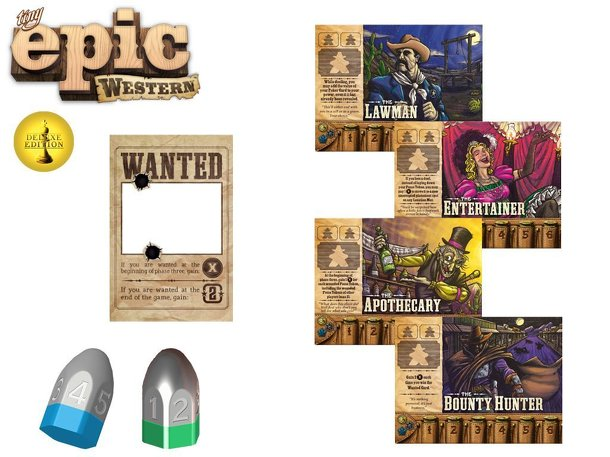 Tiny Epic Western: Kickstarter Deluxe Promo Pack