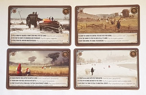 Scythe Promo Pack #2-4 PROMO rencontre cartes