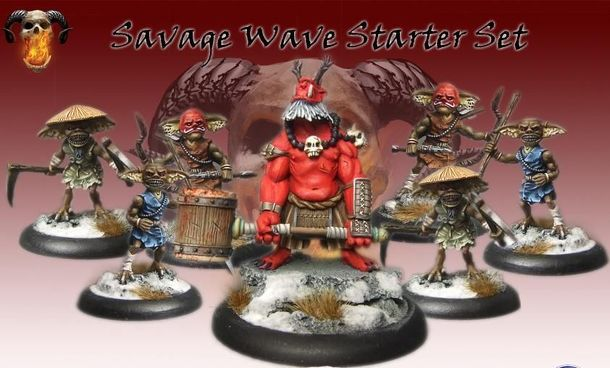 Bushido: Savage Wave Starter Set