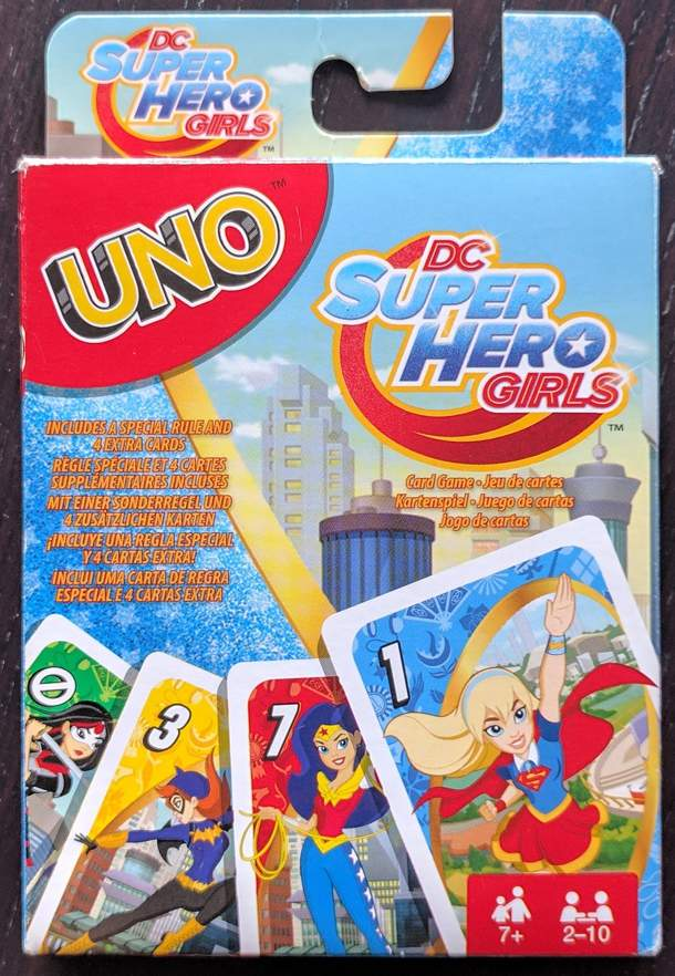 UNO: DC SuperHero Girls