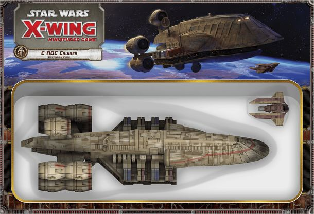 Star Wars: X-Wing Miniatures Game – C-ROC Cruiser Expansion Pack