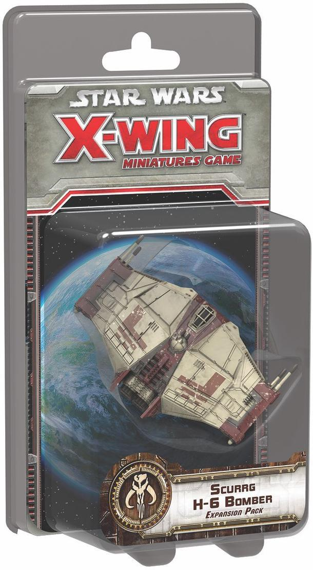 Star Wars: X-Wing Miniatures Game – Scurrg H-6 Bomber Expansion Pack